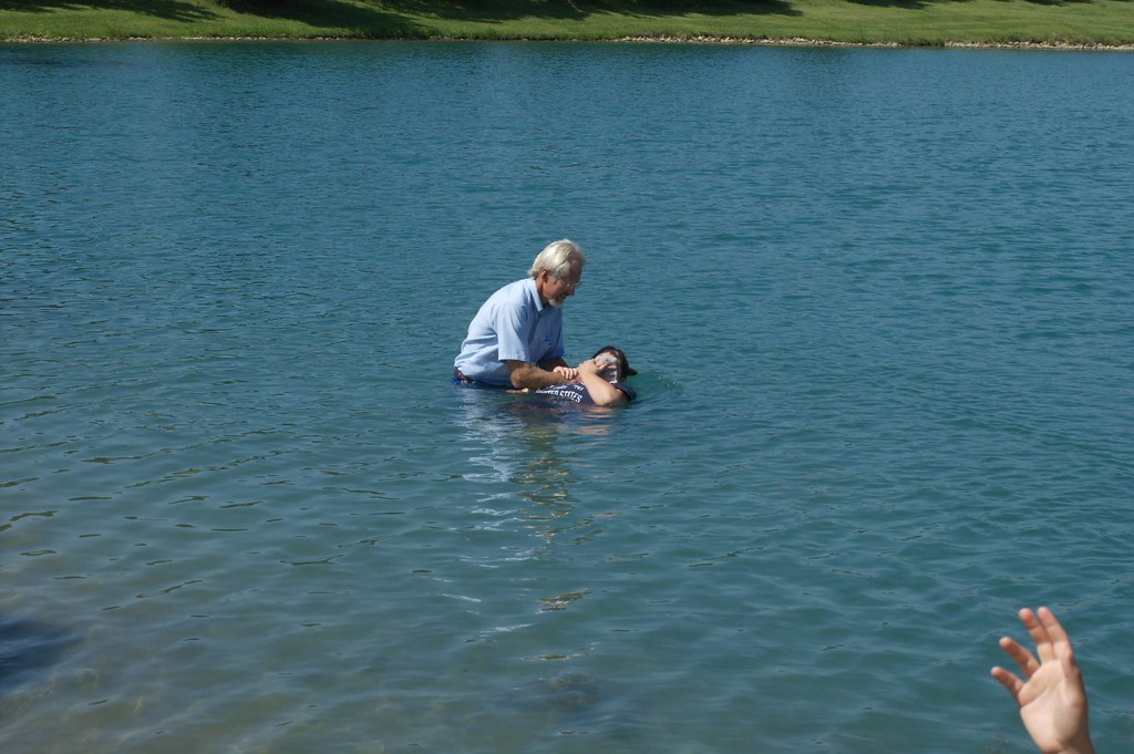 """""""Individual Baptism 0056"""" by Douglas Coulter is licensed under CC BY-NC-SA 2.0"""