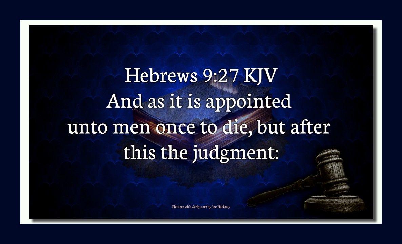 Heb 9:27